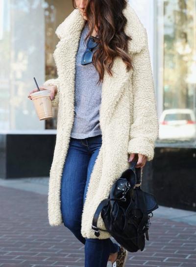 Keep It Cool Long Sleeves Coat STYLESIMO.com