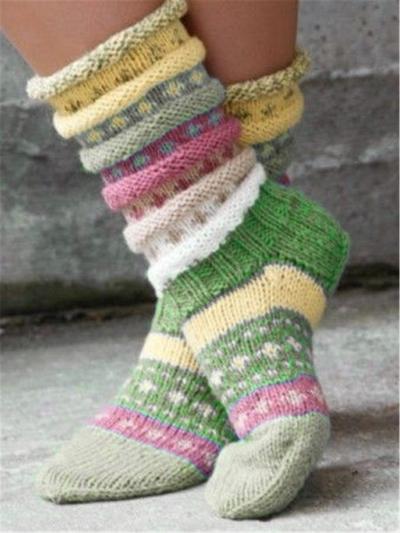 Casual knit socks