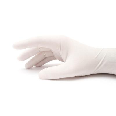 100Pcs Disposable Nitrile Latex Gloves White 3 Sizes