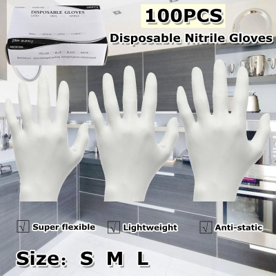 Disposable Nitrile Latex Gloves