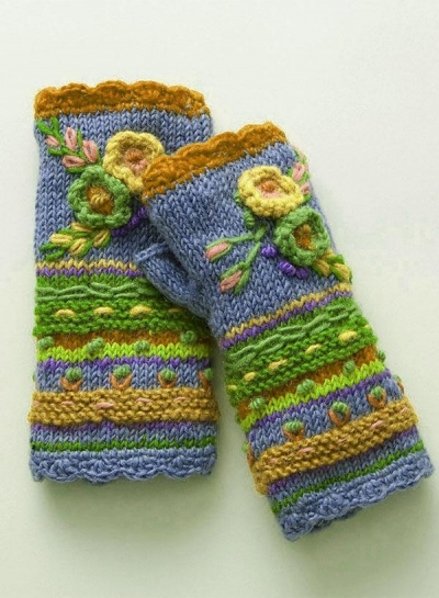 CASUAL KNIT GLOVES HANDWARMERS stylesimo.com