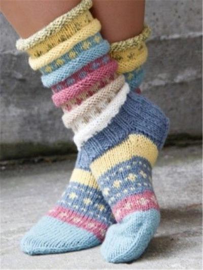 Casual knit socks stylesimo.com